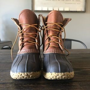 BRAND NEW LL Bean duck boots